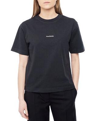 Acne Studios Logo T-shirt Black