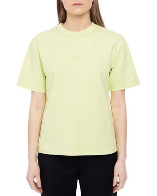 Acne Studios Logo T-shirt Lemon Yellow
