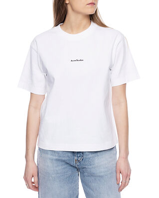 Acne Studios Logo T-shirt Optic White