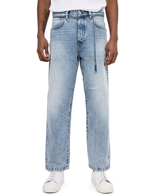 Acne Studios Loose Fit Jeans Light Blue