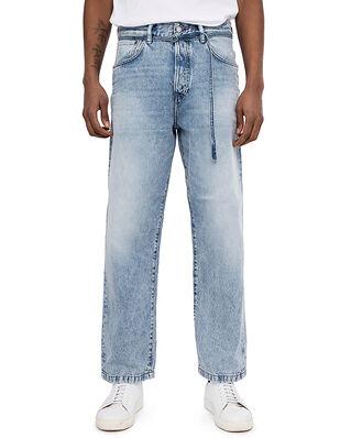 Acne Studios Loose Fit Jeans Light Blue