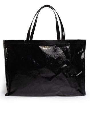 Acne Studios Oilcloth Tote Maxi Black
