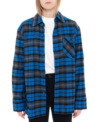 Acne Studios Salak Flannel Face Ink Blue