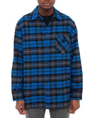 Acne Studios Salak Flannel Face Ink Blue