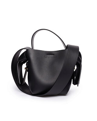 Acne Studios Small Leather Bag Black