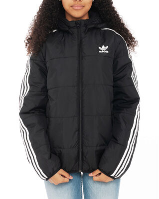 Adidas Junior Padded Jacket Black/White