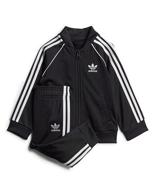 Adidas Junior Sst Tracksuit Black/White