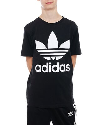 Adidas Junior Trefoil Tee1 Black/White