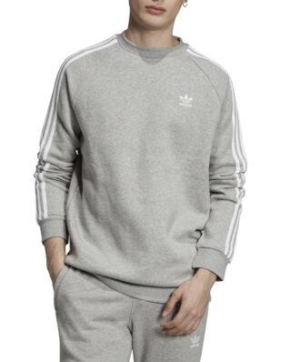 Adidas 3-Stripes Crew Mgreyh