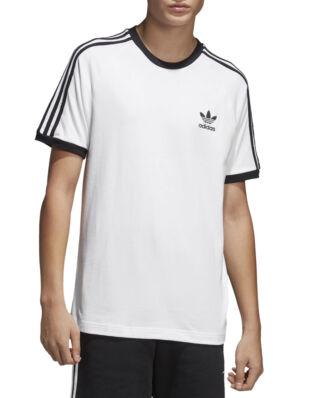 Adidas 3-Stripes Tee White
