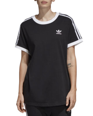 Adidas 3 Stripes Tee Black