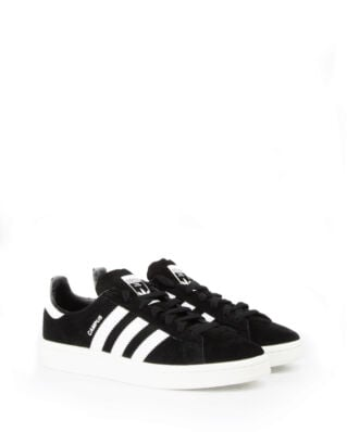Adidas Campus Core Black/Footwear White/Chalk White