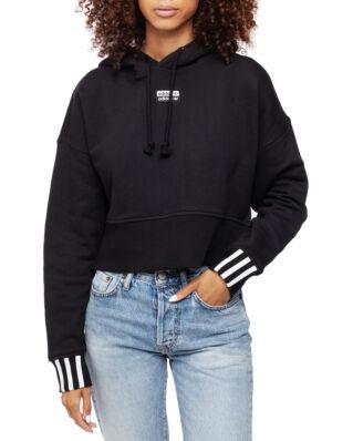 Adidas Crop Hood Black