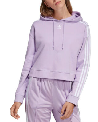 Adidas Cropped Hoodie Purglo