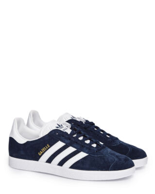 Adidas Gazelle Collegiate Navy/White/Gold Metallic