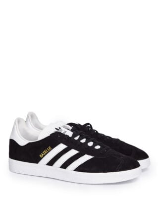 Adidas Gazelle core black/white/gold met. sneakers