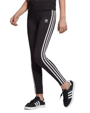 Adidas Junior 3-Stripes Legg Black/White