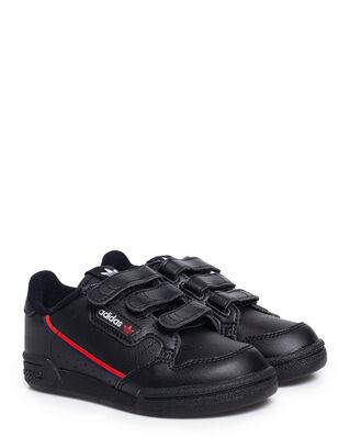 Adidas Junior Continental 80 Cf C Cblack/Cblack/Scarle