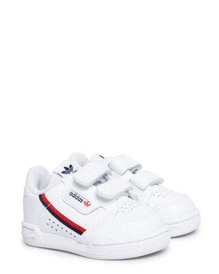 Adidas Junior Continental 80 Cf I Ftwwht/Ftwwht/Scarle