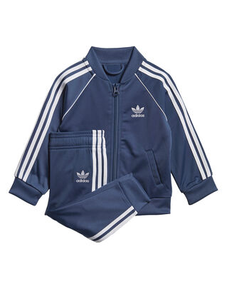 Adidas Junior Superstar Suit Night Marine/White