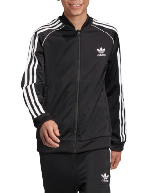Adidas Junior Superstar Top Black/White