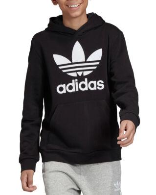Adidas Junior Trefoil Hoodie Black/White