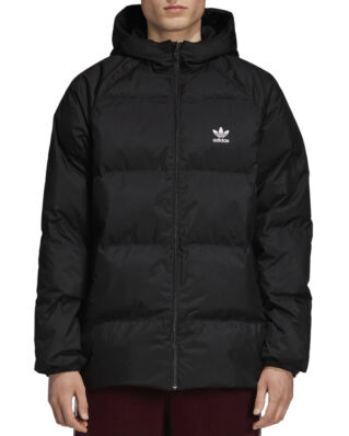 Adidas Sst Down Hood Black