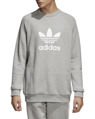 Adidas Trefoil Crew Medium Grey Heather