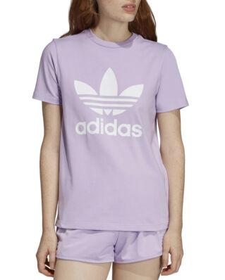 Adidas Trefoil Tee Purple Glow