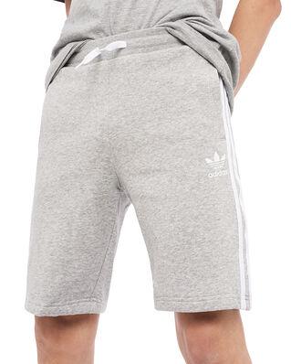 Adidas Junior Fleece Shorts Mgrey/White