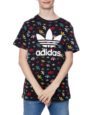Adidas Junior Tee Black/Multico/White
