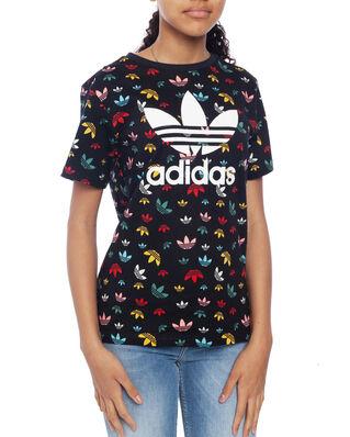 Adidas Junior Tee Black/Multico/White