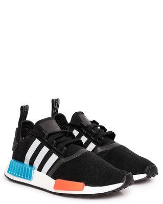 Adidas NMD_R1 Core Black / Silver Metallic / Solar Red