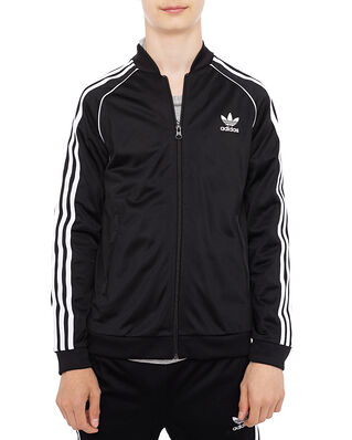 Adidas Junior SST Track Top Black/White