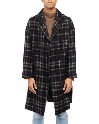 ADNYM Atelier Payli Coat Black Check