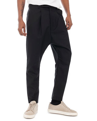 ADNYM Atelier Alo P 181 Loose Pleat Pant Smoke Black