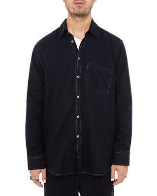 ADNYM Atelier Garda Shirt Black Flanel