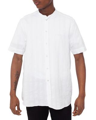ADNYM Atelier Tripoli Shirt SS White Jaquard