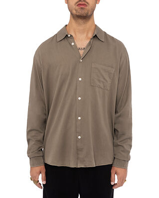 ADNYM Atelier Ward Shirt Dk Taupe
