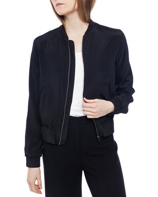 Ahlvar Gallery Kimie Bomber Jacket Washed Black