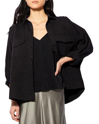 Ahlvar Gallery Gigi Over Shirt Washed Black