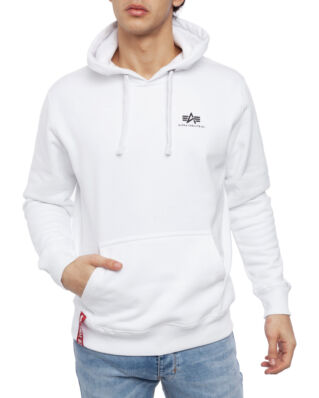 Alpha Industries Basic Hoody Small Logo White