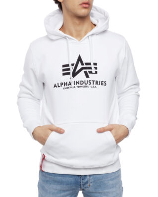 Alpha Industries Basic Hoody White