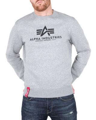Alpha Industries Basic Sweater Grey Heather