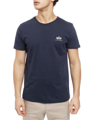 Alpha Industries Basic T Small Logo Navy