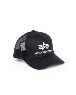 Alpha Industries Basic Trucker Cap Black