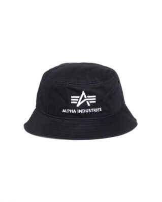 Alpha Industries Bucket Hat Black