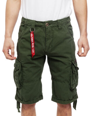Alpha Industries Jet Short Dark Olive