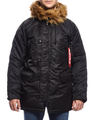 Alpha Industries N3B VF 59 Down jacket black