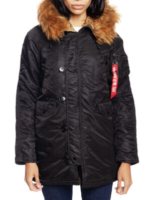Alpha Industries N3B VF 59 Wmn Black